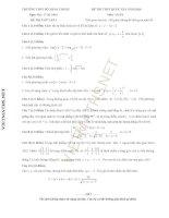 đề thi thử toán THPT số 3 bảo thắng