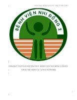 CHƯƠNG TRÌNH SƠ CỨU TRẺ Ở TRƯỜNG- BOOK first aids for teachers