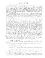 SKKN  Giúp học sinh lớp 5 trường tiểu học quảng minh A – quảng trạch – quảng bình phát triển kỹ anwng sử dụng từ ngữ trong bài văn tả cảnh