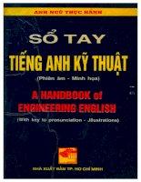 Sổ tay tiếng anh chuyên ngành kỹ thuật