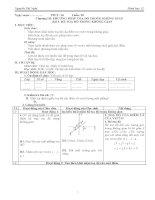 Giáo án hình học 12 cơ bản hk2