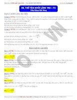 Bài giảng 8 thể tích khối lăng trụ phần 2