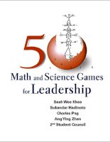 50 math and science games for leadershipteam NanbanTPB