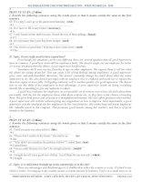 50 bài luận mẫu trong bài thi thpt quốc gia môn Tiếng Anh