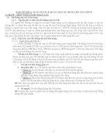 Chuyên đề 2 ngân hàng và quản trị các định chế tài chính