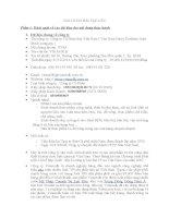 Bài tập lớn môn tài chính doanh nghiệp: CÔNG TY CỔ PHẦN SỮA VIỆT NAM