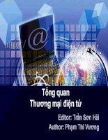 bài giảng thương mại điện tử  chương 1   tổng quan thương mại điện tử