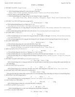 20 chuyên đề Ôn thi Tốt nghiệp THPT quốc gia môn tiếng Anh