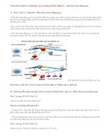 Giải bài 1,2,3,4 trang 18 SGK Sinh 12: Điều hòa hoạt động gen