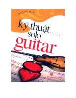 guitar dành cho người bắt đầu