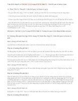 Giải bài 1,2,3,4 trang 49 SGK Sinh 12: Liên kết gen và hoán vị gen