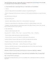 Giải bài 1,2,3,4,5,6 trang 36,37 SGK Hóa 12: Luyện tập Cấu tạo và tính chất của Cacbohiđrat