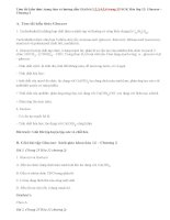 Giải bài 1,2,3,4,5,6 trang 25 SGK Hóa 12: Glucozơ