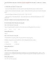 Giải bài 1,2,3,4,5,6 trang 48 SGK Hóa 12: Amino axit