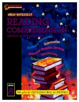 Reading comprehension skills  strategies level 8