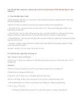 Giải bài 1,2,3,4,5 trang 11 SGK Hóa học lớp12: Lipit