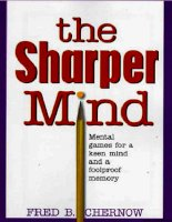 The sharper mind mental games for a keen mind and a foolproof memory