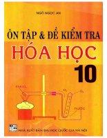 Ôn luyện và đề kiểm tra hóa học 10 NXB đại học quốc gia 2006