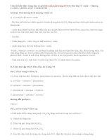 Giải bài 1,2,3,4,5,6 trang 44 SGK Hóa 12: Amin