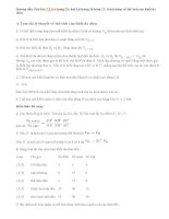 Giải bài 1,2,3,4,5,6 trang 25,26 hình 12: Khái niệm về thể tích của khối đa diện