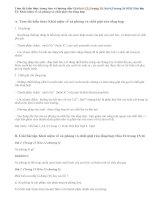 Giải bài 1,2,3,4,5 trang 15,16 SGK Hóa 12: Khái niệm về xà phòng và chất giặt rửa tổng hợp