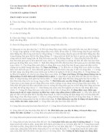 Đề cương ôn thi Vật lý 12 học kì 1 Điện xoay chiều có đáp án chi tiết