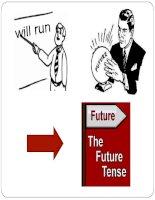 Future tenses: future simple, be going to V, future continuous, future perfect (continuous)