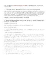 Giải bài 1,2,3 trang 120 SGK Sinh 11: Điện thế hoạt động và sự lan truyền xung thần kinh