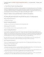 Giải bài 1,2,3,4,5,6 trang 90 SGK Sinh 11: Cân bằng nội môi
