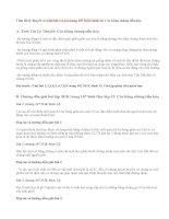Giải bài 1,2,3,4 trang 107 SGK Sinh 12: Các bằng chứng tiến hóa