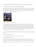 Giải bài 1,2,3,4 trang 9 SGK Sinh 10: Các cấp tổ chức của thế giới sống