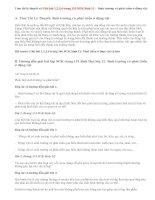 Giải bài 1,2,3,4 trang 151 SGK Sinh 11: Sinh trưởng và phát triển ở động vật