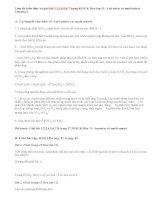 Giải bài 1,2,3,4,5,6,7 trang 45 SGK Hóa 11: Axit nitric và muối nitrat