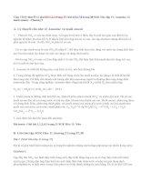 Giải bài 1,2,3,4,5,6,7,8 trang 37,38 SGK Hóa 11: Amoniac và muối amoni