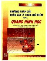 Phương pháp giải toán vật lý theo chủ điểm tập 2 quang hình học  NXB đại học quốc gia 2001