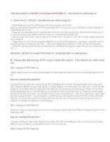Giải bài 1,2,3,4 trang 14 SGK Sinh 11 : Vận chuyển các chất trong cây