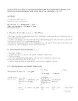 Ma trận đề thi học kì 1 lớp 11 môn Văn có đáp án chi tiết