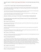 Giải bài 1,2,3,4,5 trang 122 SGK Sinh 12: Quá trình hình thành quần thể thích nghi