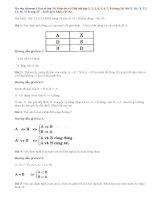 Giải bài ôn tập chương 1 Đại số lớp 10: Bài 1,2,3,4,5, 6,7,8,9,10, 11,12,13, 14,15 SGK trang 24, 25