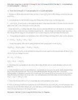 Giải bài 1,2,3,4,5 trang 53,54 SGK Hóa 11: Axit photphoric và muối photphat