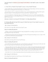 Giải bài 1,2,3,4,5 trang 112 SGK Sinh 12: Học thuyết Lacmac và học thuyết Đacuyn