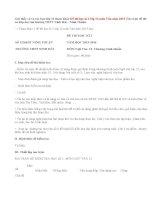 Đề thi học kì 1 lớp 12 môn Văn năm 2015 (Ma trận đề thi có đáp án)