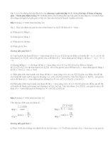 Giải bài 1,2,3,4 trang 17 SGK giải tích lớp 11 (Bài tập Hàm số lượng giác)