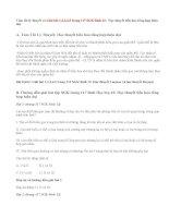 Giải bài 1,2,3,4,5 trang 117 SGK Sinh 12: Học thuyết tiến hóa tổng hợp hiện đại
