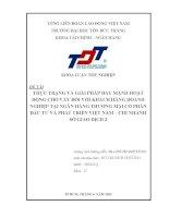 THỰC TRẠNG VÀ GIẢI PHÁP ĐẨY MẠNH HOẠT ĐỘNG CHO VAY ĐỐI VỚI KHÁCH HÀNG DOANH NGHIỆP TẠI NGÂN HÀNG THƯƠNG MẠI CỔ PHẦN ĐẦU TƯ VÀ PHÁT TRIỂN VIỆT NAM – CHI NHÁNH SỞ GIAO DỊCH 2