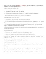 Giải bài 1,2,3,4 trang 91 SGK Hóa 11: Mở đầu về hoá học hữu cơ