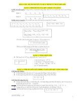 Tổng hợp công thức sinh học LTĐH