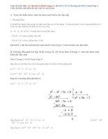 Giải bài 67,68,69, 70,71,72,73,74 trang 31,32 SGK Toán 8 tập 1: Chia đa thức một biến đã sắp xếp