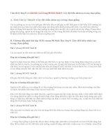 Giải bài 1,2,3 trang 98 SGK Sinh 9: Gây đột biến nhân tạo trong chọn giống