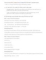 Bài 1,2,3,4 trang 33, 34 SGK hóa lớp 8: Công thức hóa học